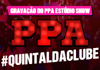Gravação do DVD PPA Estúdio Show no #QuintaldaClube