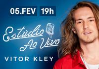 Vitor Kley no Estúdio Ao Vivo Clube
