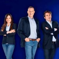Eduardo Oinegue, Carla Bigatto e Felipe Bueno