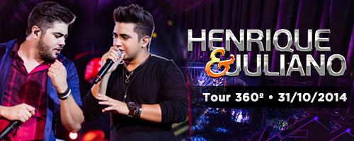 Tour 360º - Henrique e Juliano no Banana Brasil