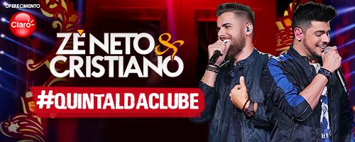Quintal da Clube com Zé Neto & Cristiano